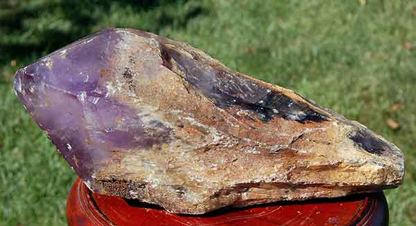 Crystals and Minerals - Natural Amethyst Specimen from Brazil from Healing Crystals