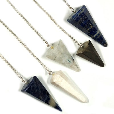 Healing Crystals Pendulum Assortment