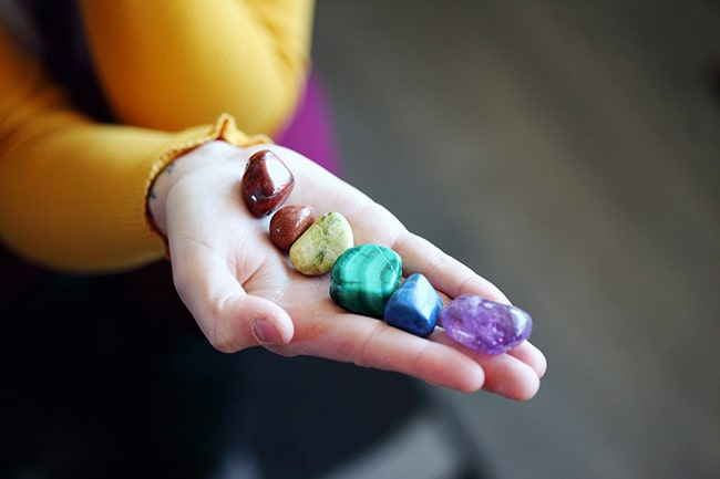 Healing Crystals - Tumbled Stones for the Chakras - Image Source: SharonMcCutcheon / Pixabay