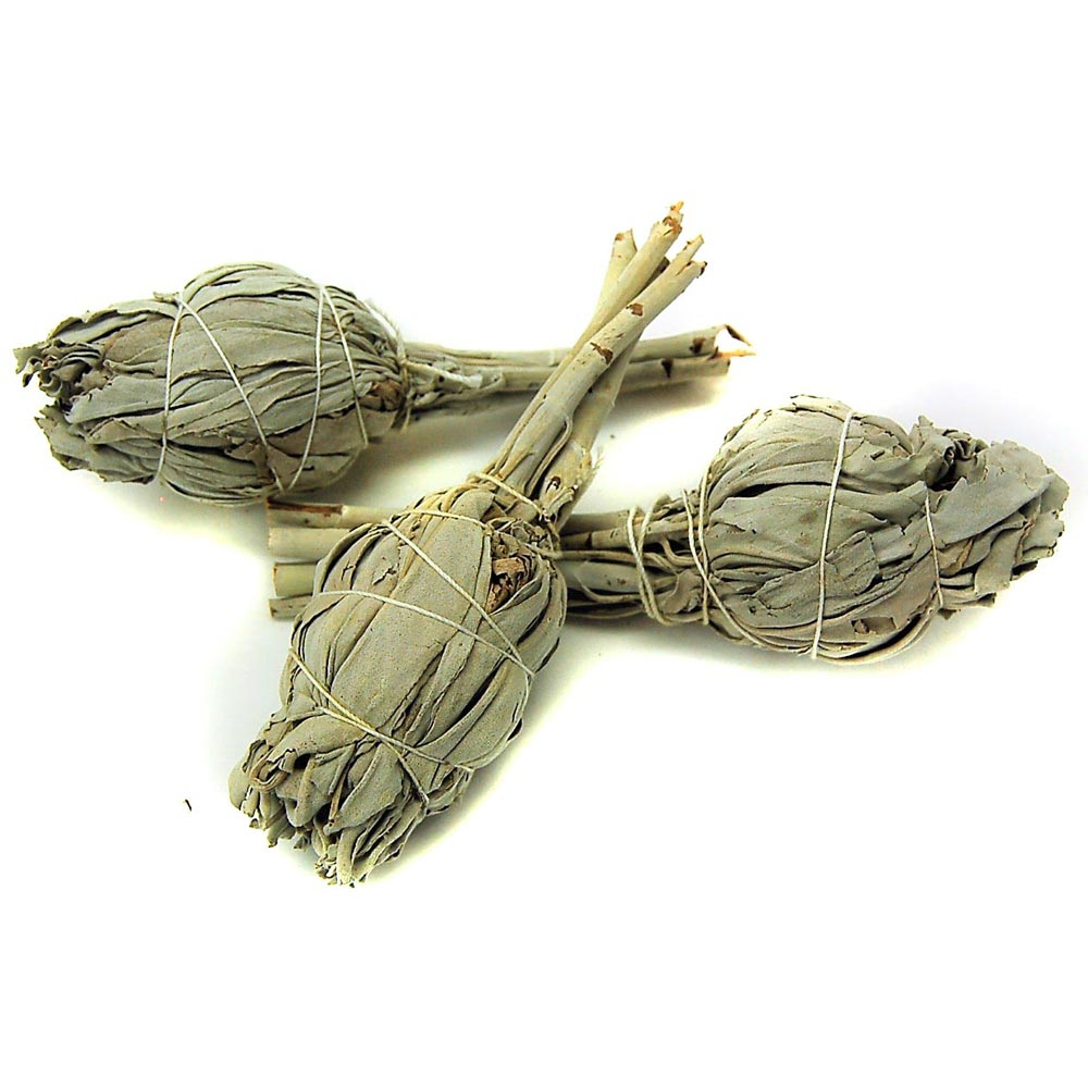 How to Clear Crystals - White Sage Smudge Sticks