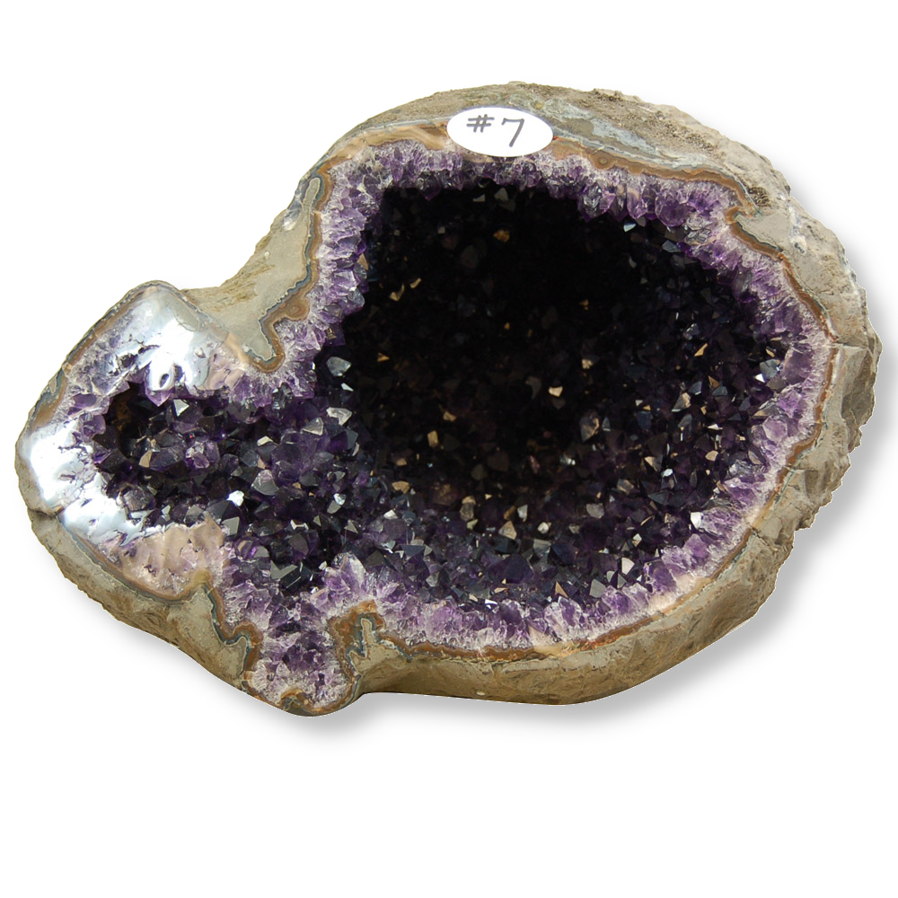 How to Clear Crystals - Amethyst Geode