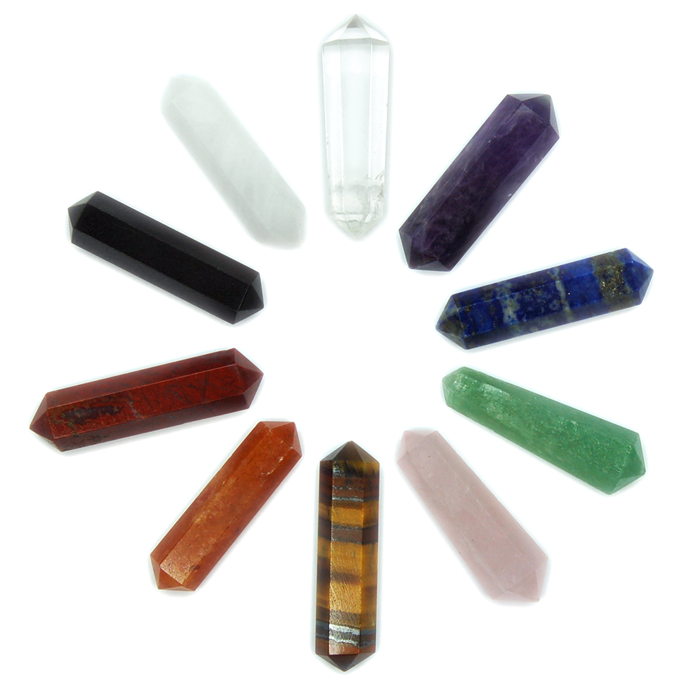 10pc. Chakra 6-Sided DT Pencils (India)