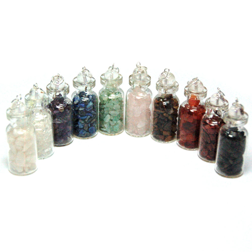 Chakra Crystals in a Bottle Assortments (India)