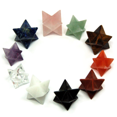 10pc. Chakra Merkaba Assortment (India)
