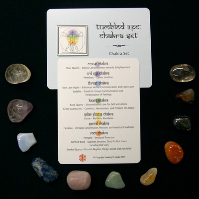 Chakra Set - Tumbled Stones (11pcs.) photo 6