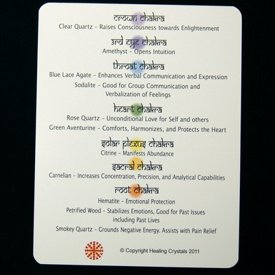 Chakra Set - Tumbled Stones (11pcs.) photo 8