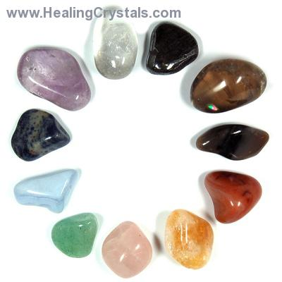 Chakra Set - Tumbled Stones (11pcs.) photo 3