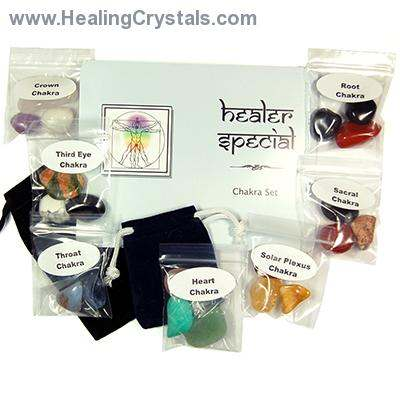 Wholesale - 21pc. Chakra Healer Special Set (10 Sets)