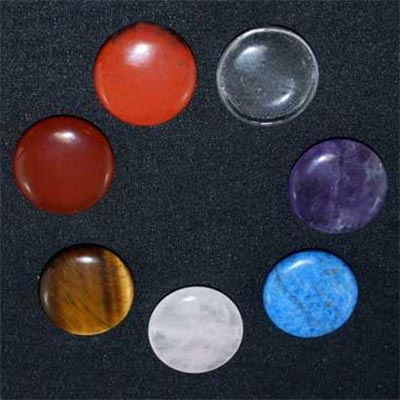 Discontinued - 7 Chakra Coin Set - Coins (China)