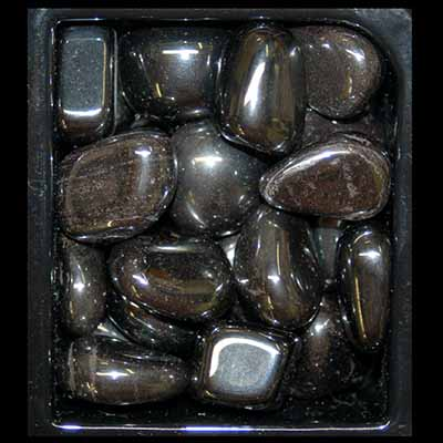 ASST#2 - 9 Different Tumbled Stones - 25pc. bags