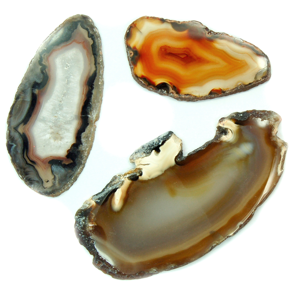 CLEARANCE - Agate Natural Slices (Brazil)