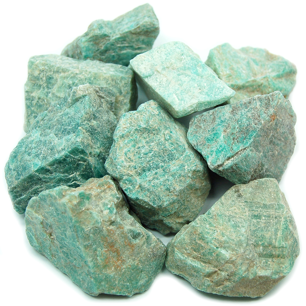 Amazonite - Amazonite Natural Chips/Chunks (Africa)