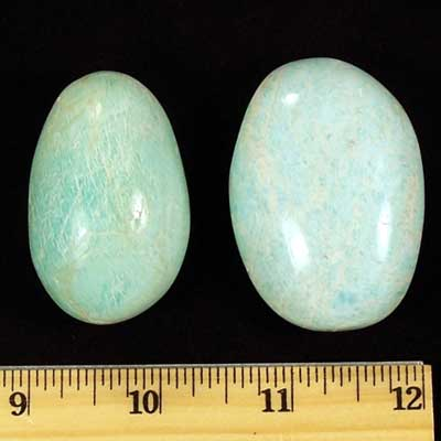 Gallet - Amazonite Gallets (Madagascar)