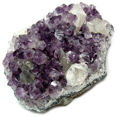 "Amethyst - Amethyst Druze Clusters ""Extra\"" (Brazil)"