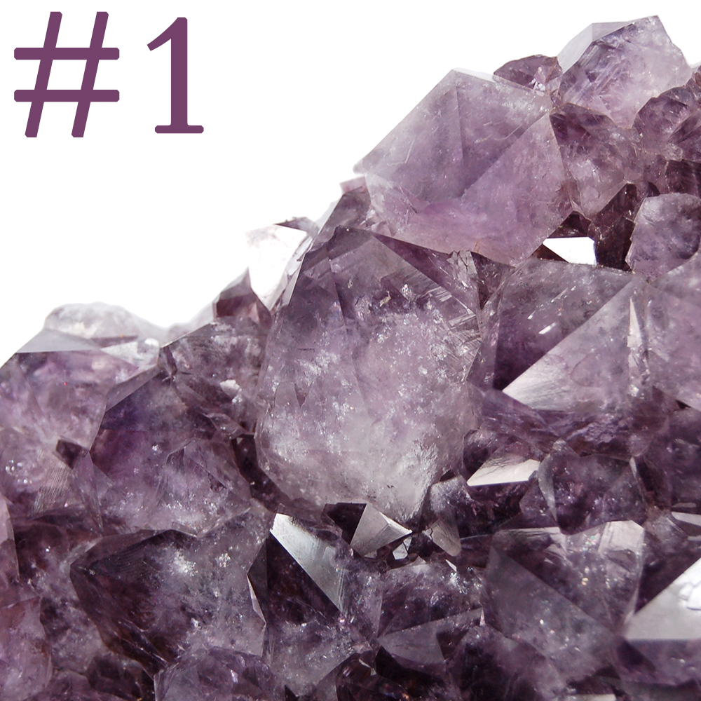 Discontinued - Amethyst Cluster SPECIMENS (Light Purple) photo 2