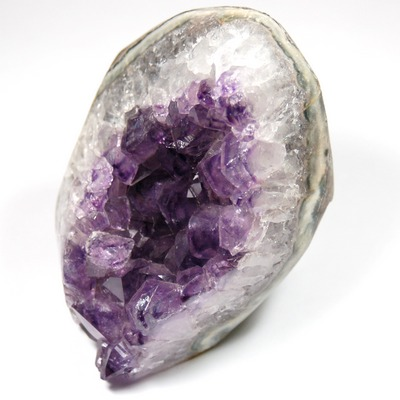 Amethyst - Amethyst Polished Druze w/Cut Base (Uruguay)