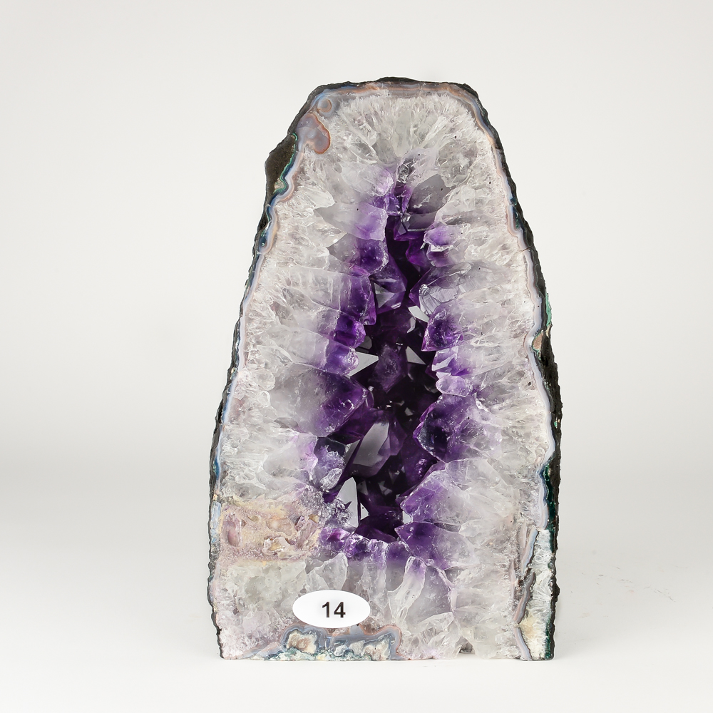 Amethyst Cathedral Geode Specimens