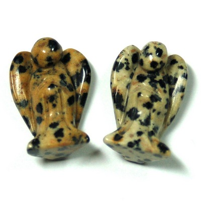 Discontinued - Dalmatian Jasper Angel (China)