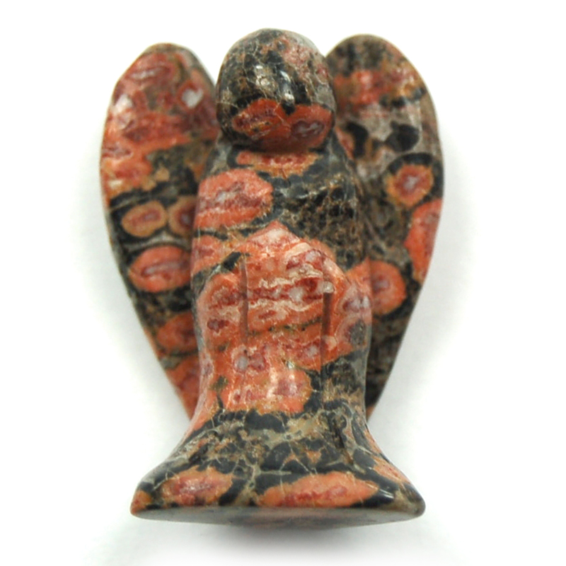 Discontinued - Leopardskin Jasper Angel (China)
