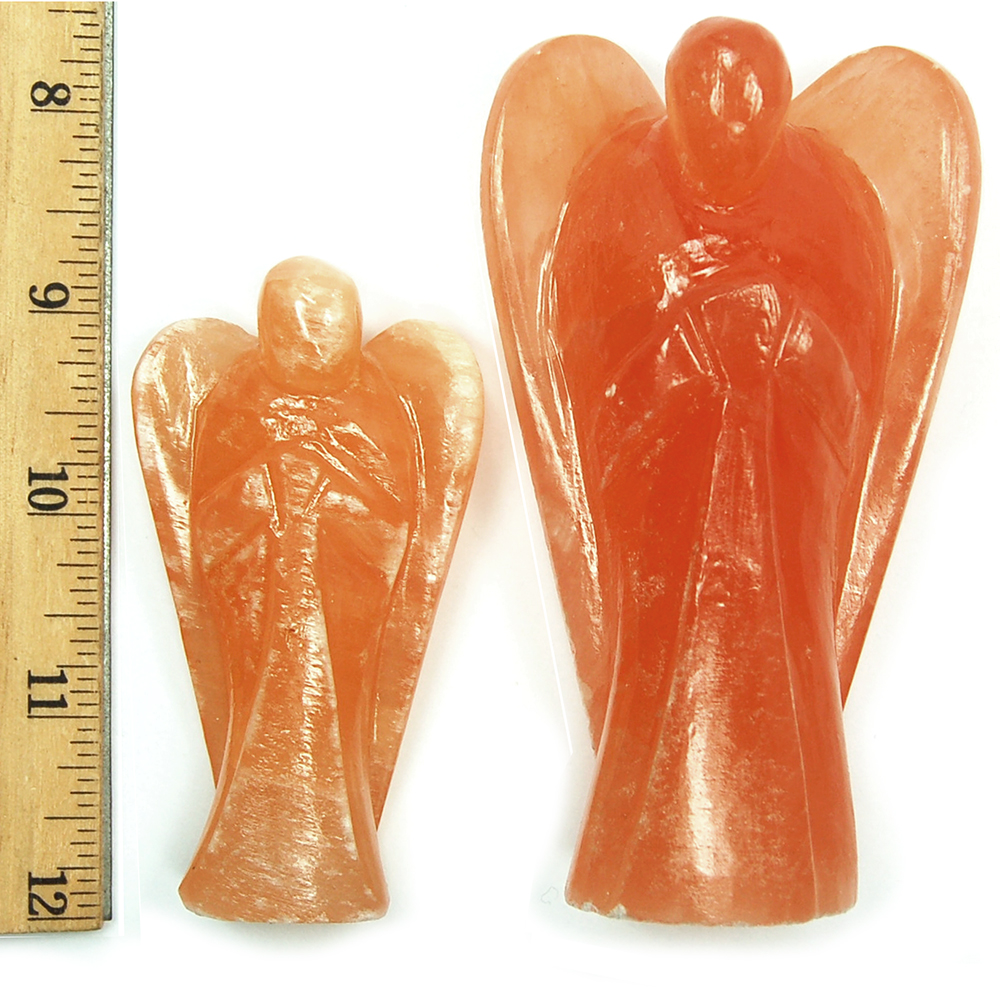 Discontinued - Red Selenite Angel (Morocco)