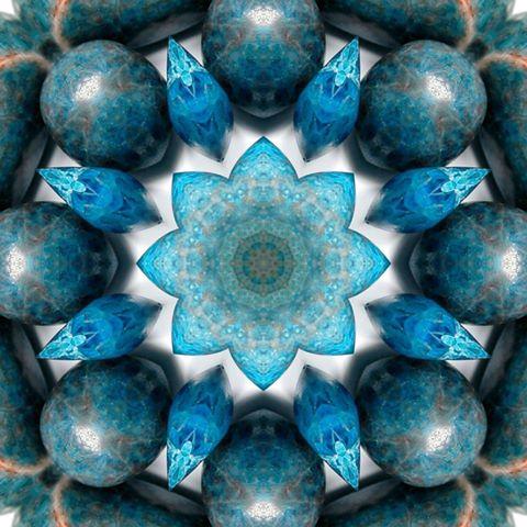 blue aura and numerology