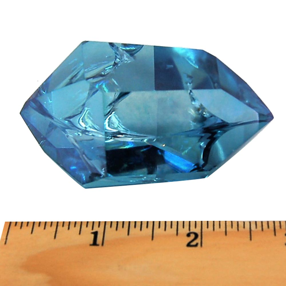Aqua Aura Double Terminated Polished Points