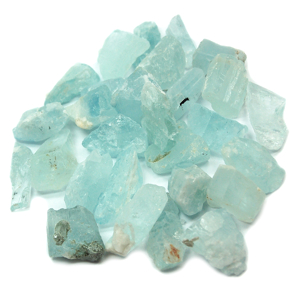 "Aquamarine - Aquamarine Chips/Chunks ""A\"" (Brazil)"