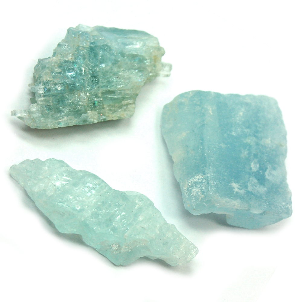 "Aquamarine Crystal Chips ""A"" Grade photo 2"