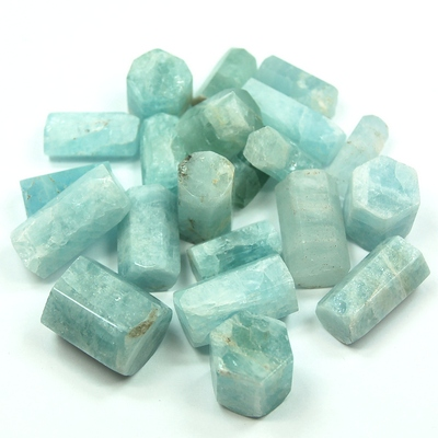 Aquamarine - Aquamarine Rods (Pakistan)
