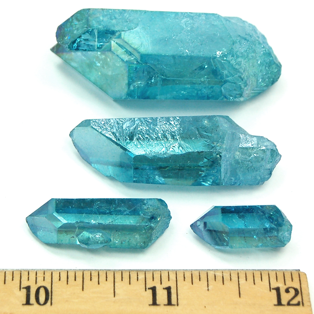 Aqua Aura Quartz Points photo 4