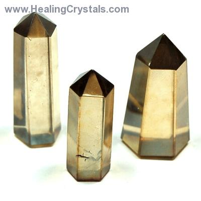 Aura Quartz - Champagne Aura (Smokey Aura) Mini Towers photo 6