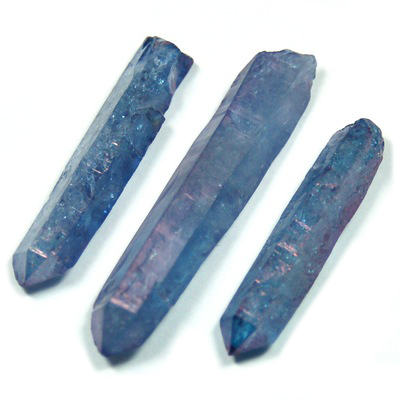 Indigo Aura Quartz Points (Tanzan Aura) photo 2