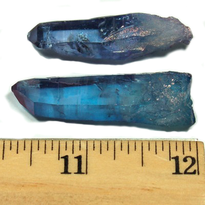 Indigo Aura Quartz Points (Tanzan Aura) photo 4