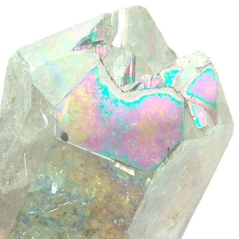 rainbow quartz aura quartz rainbow angel aura dt points brazil rainbow