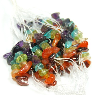 Discontinued - 7 Chakra Beads (Chips) (India)