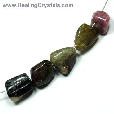 Discontinued - Mixed Color Tourmaline Beads (India)