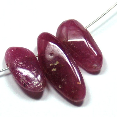 "Discontinued - Ruby Beads ""Extra\"" (India)"