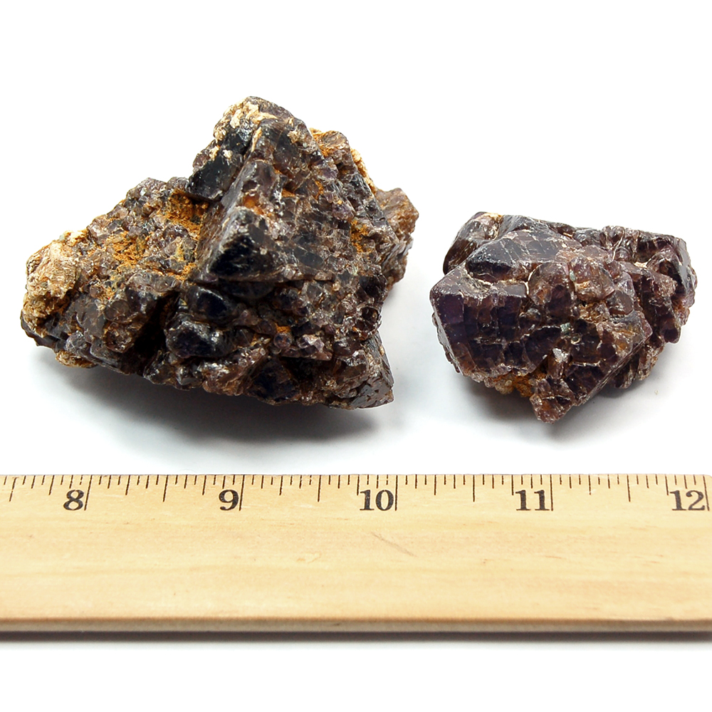 Black Spinel - Black Spinel Natural Chunks (Tanzania)