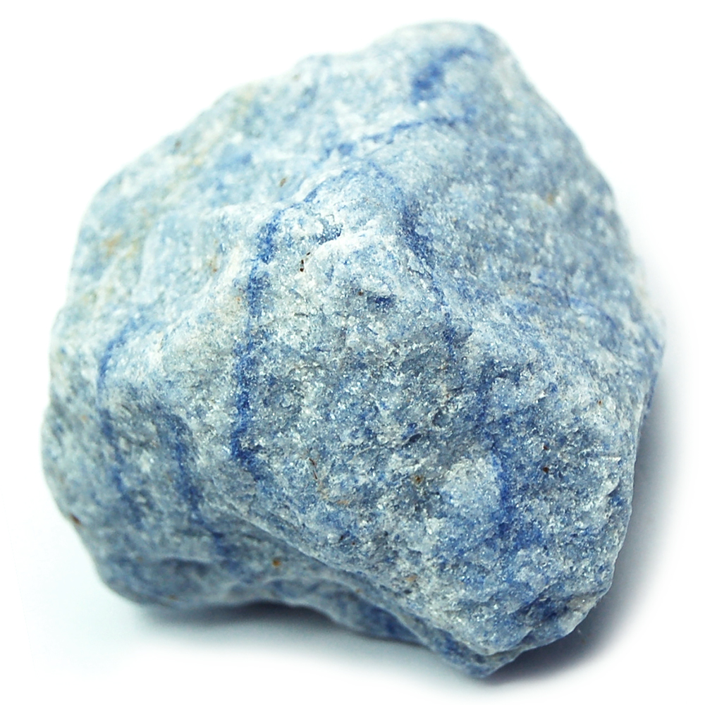 Blue Quartz - Blue Quartz Natural Chunks (Brazil)