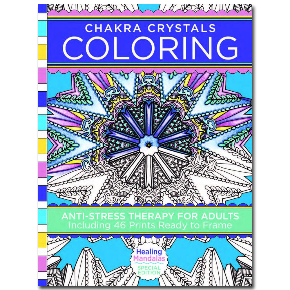 Book - Healing Crystals Coloring Books