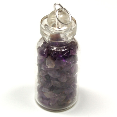 Discontinued - Amethyst Crystals in a Bottle (India)