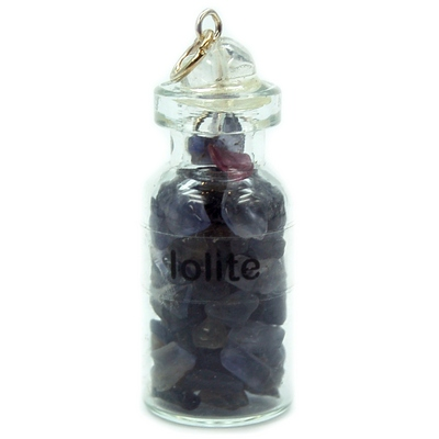 Discontinued - Iolite Crystals in a Bottle (India)