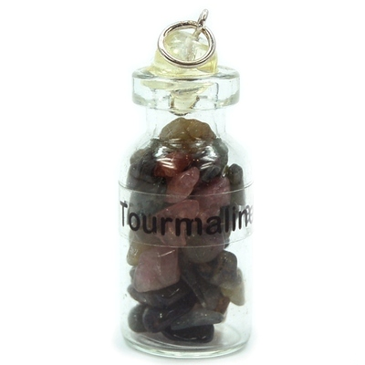 Discontinued - Multi-Color Tourmaline in a Bottle (India)