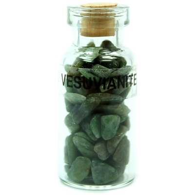 Discontinued - Vesuvianite Crystals in a Bottle (India)