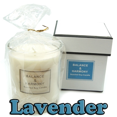 Candles - Balance & Harmony Boxed Candle in Jar - Lavender