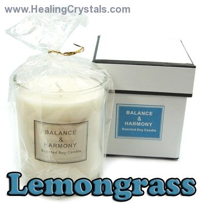 Candles - Balance & Harmony Boxed Candle in Jar - Lemongrass