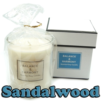 Candles - Balance & Harmony Boxed Candle in Jar - Sandalwood