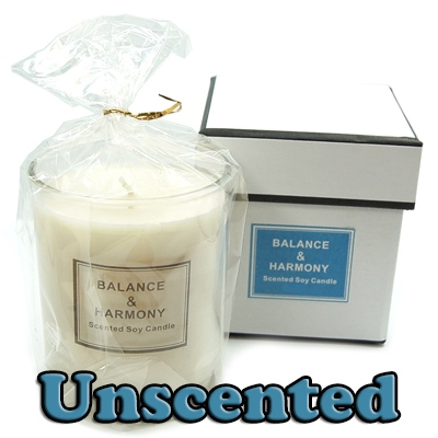 Discontinued - Balance & Harmony Boxed Candle/Jar - Unscented