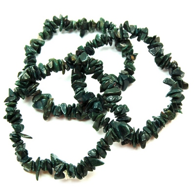 Discontinued - Green Quartz Single Strand Bracelet (India)