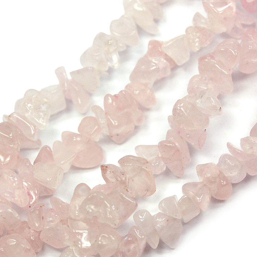 Bracelets - Rose Quartz Single Strand Bracelet (India)